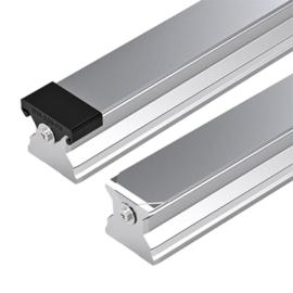 Standard Vezetősín felülről szerelhető, védőlemezzel és zárókupakkal, 1834 mm, R180546161