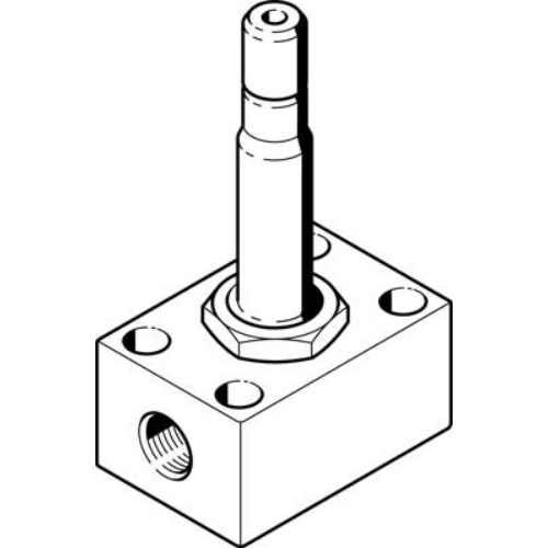 FESTO  MCH-3-1/8 mágnesszelep, 2199