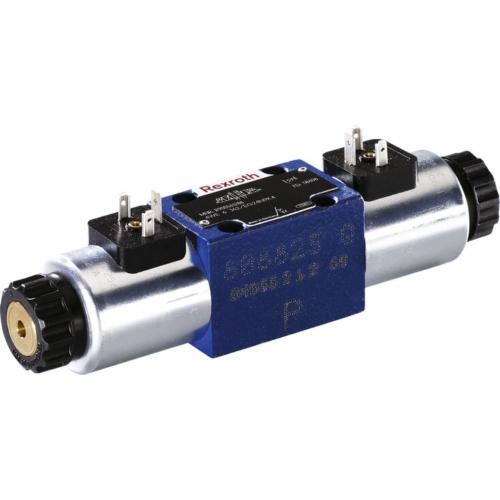 Mágnessel vezérelt tolattyús útszelep, 4WE 6 D6X/EG24N9K4, R900561274
