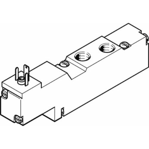 FESTO  MEBH-5/2-1/8-P-L-B-230AC mágnesszelep, 173100