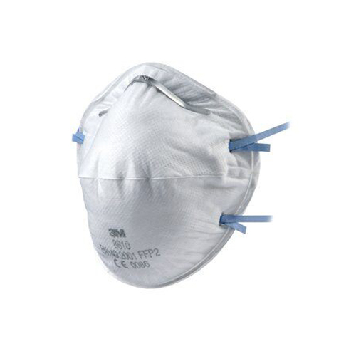 3M™ 8810 FFP2 Részecskeszűrő félálarc, maszk, 20 db/csomag, 7100003010 (1 db 686 Ft)