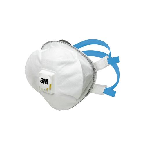 3M™ 8825+ részecskeszűrő félálarc, FFP2, szelepes, 2780 Ft/db, 5 db/csomag, 7100081543