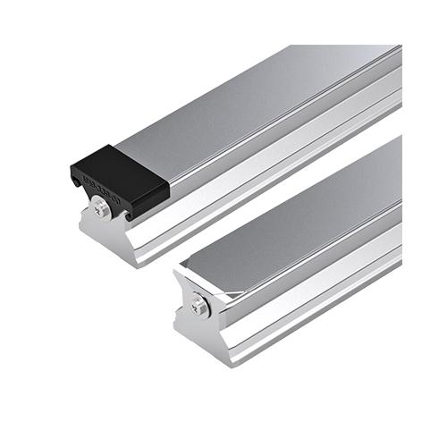 Standard Görgős Vezetősín felülről szerelhető, védőlemezzel és zárókupakkal, 3370 mm, R180536261