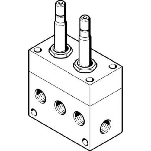 FESTO  MC-5/4-1/2 mágnesszelep, 4861