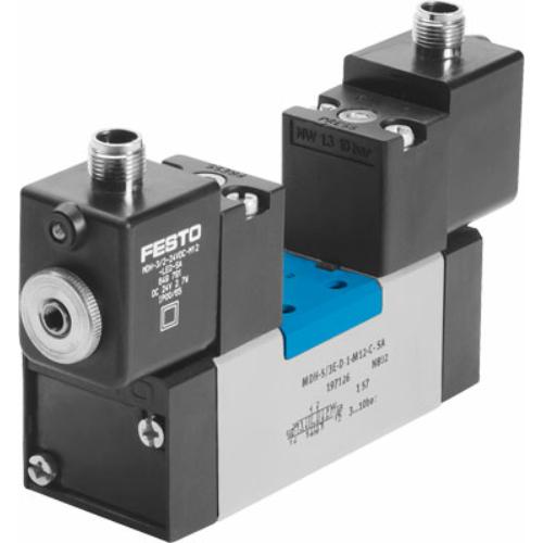 FESTO  MDH-5/3G-D-1-M12D-C mágnesszelep, 540806