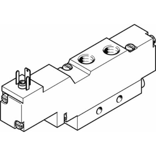 FESTO  MEBH-5/2-1/8-L-B-230AC mágnesszelep, 173086