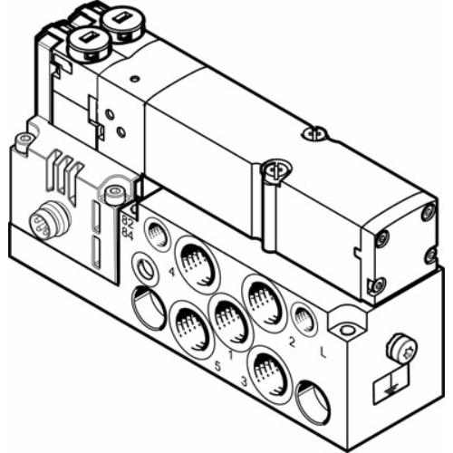 FESTO  VMPA2-M1H-I-G1/8-PI mágnesszelep, 545232