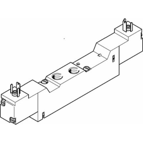 FESTO  MEBH-5/3G-1/8-P-B mágnesszelep, 173018