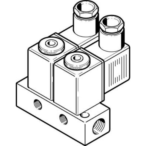 FESTO  BMFH-2-3-M5 mágnesszelep, 4522