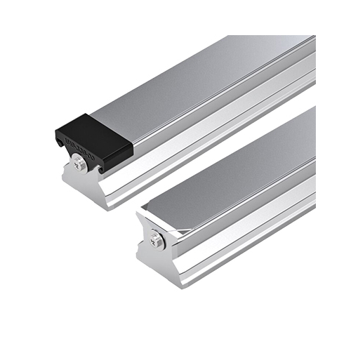Standard Vezetősín felülről szerelhető, védőlemezzell és zárókupakkal, 1466 mm, R180546161