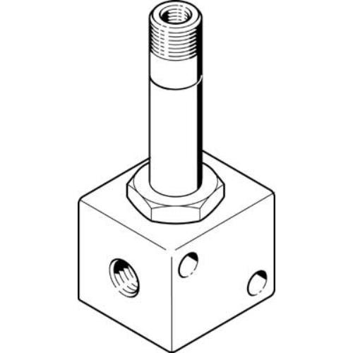FESTO  MFH-3-M5 mágnesszelep, 4450