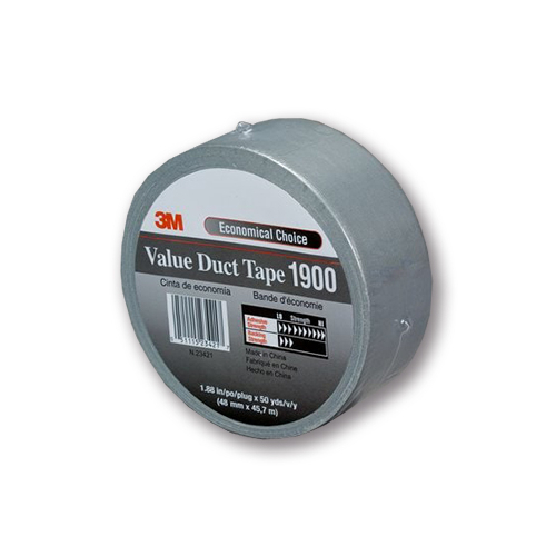 3M™ 1900 Duct Tape Szövetszalag, ezüst, 1060 mm x 50 m, 7000071805